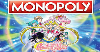 Jogo Monopoly Sailor Moon