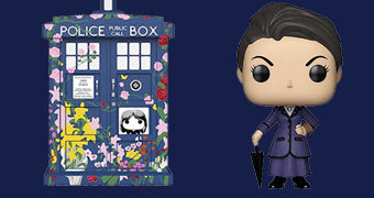 "Doctor Who Pop! TV: Missy e TARDIS ""Clara Memorial"""