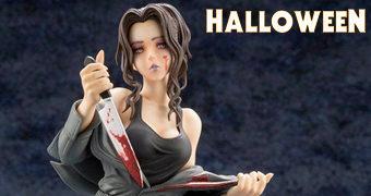 Estátua Michael Myers (Halloween) Estilo Bishoujo – Ilustração de Shunya Yamashita