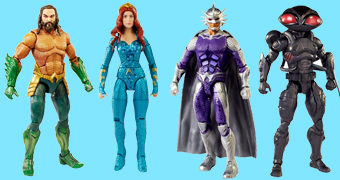 Set com 4 Action Figures Aquaman Movie DC Comics (Mattel)