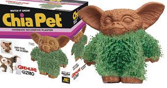 Gizmo Gremlins Chia Pet Coberto de Grama!