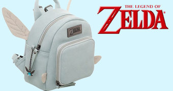 Micro-Mochila da Fada Navi (The Legend of Zelda)