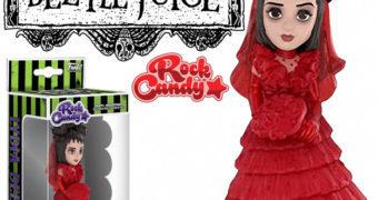 Boneca Lydia Deetz Rock Candy (Beetlejuice Os Fantasmas se Divertem)