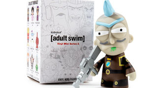 Mini-Figuras Séries Animadas do Canal Adult Swim (Kidrobot Blind-Box)