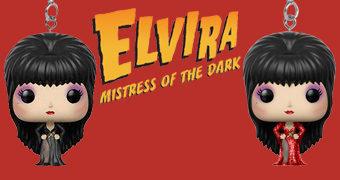 Chaveiros Pocket Pop! Elvira, a Rainha das Trevas