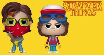 Dupla VYNL Stranger Things: Steven + Dustin