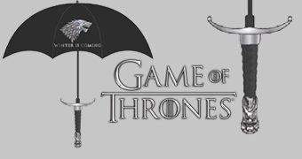 Guarda-Chuva Game of Thrones Espada Garralonga (Longclaw)