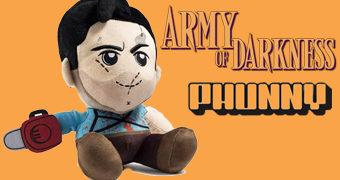 Boneco de Pelúcia Ash J. Williams PHUNNY em Army of Darkness