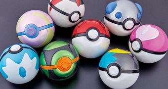 Coleção Pokémon com 8 Pokebolas Diferentes!