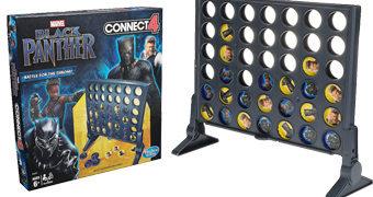 Jogo Conecta 4 (Lig 4) Versão Pantera Negra
