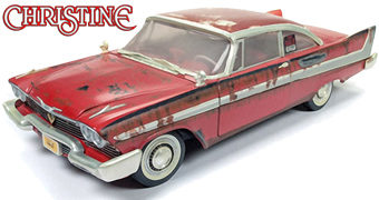 "Christine, o Carro Assassino Versão ""For Sale"" em Escala 1:18 (Stephen King)"