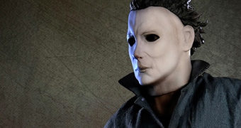 Estátua Perfeita 1:3 Michael Myers em Halloween de John Carpenter (Pop Culture Shock)