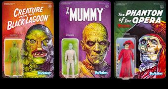 Universal Monsters ReAction – Action Figures Retro 3.75″