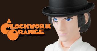 Boneco Alex DeLarge Clockwork Orange VCD Medicom (Laranja Mecânica)