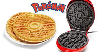 Máquina de Waffles Pokebola Pokémon!