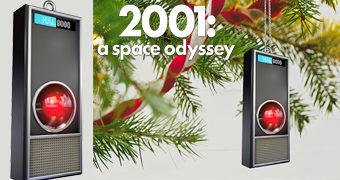 Enfeite de Natal Computador HAL 9000 de 2001, Uma Odisseia no Espaço com Luzes e Sons!