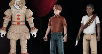 "Action Figures IT: A Coisa 3.75"" Funko: Stanley, Mike e Pennywise"