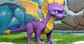 "Dragão Spyro Action Figure 7"" Neca – 20 Anos do Videogame Spyro the Dragon"
