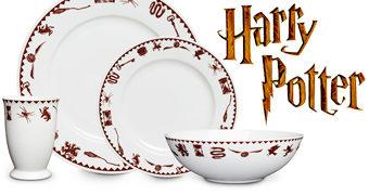 Jogo de Pratos Harry Potter Sinistro (Grim)
