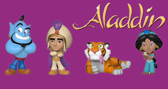 Aladdin Mystery Minis (Disney) – Mini-Figuras Funko Blind-Box