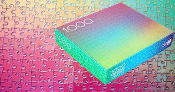 1000 Changing Colours by Clemens Habicht – Quebra-Cabeça Holográfico Impossível com 1000 Cores que Mudam!