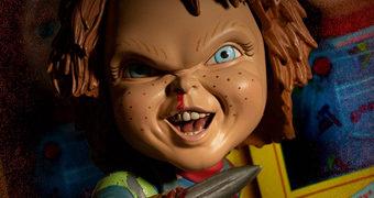 Boneco Assassino Deluxe Chucky Mezco Designer Series