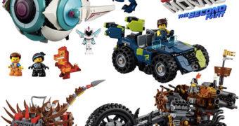 Uma Aventura LEGO 2: 19 kits com os personagens do novo filme