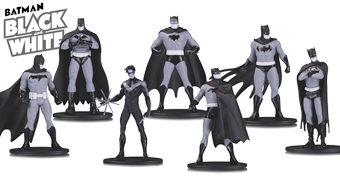 Nova Linha Batman: Black and White com Mini-Figuras em Preto e Branco