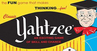 Jogo de Dados Yahtzee Versão 1956 Retro