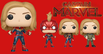 Bonecas Pop! do Filme Capitã Marvel