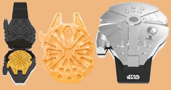 Máquina de Waffles no Formato da Millennium Falcon
