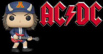 Bonecos Pop! Angus Young AC/DC