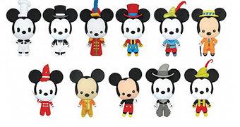 Chaveiros 3D Monogram Mickey Mouse ao Longo de 90 Anos