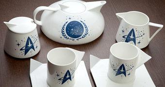 Star Trek Jogo de Chá do Capitão