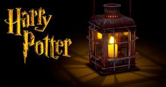 Réplica da Lanterna de Rúbeo Hagrid (Harry Potter)