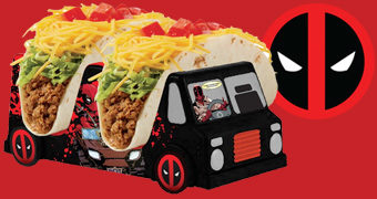 Porta-Tacos Deadpool