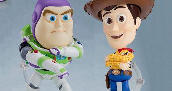 Bonecos Nendoroid Toy Story: Woody e Buzz Lightyear