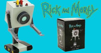 Cofre Butter Bot – Robô Passador de Manteiga (Rick and Morty)