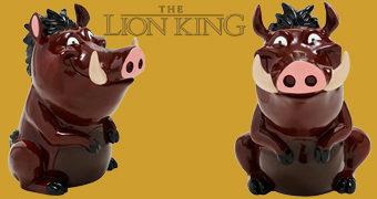 Cofre de Moedas Pumba (O Rei Leão)