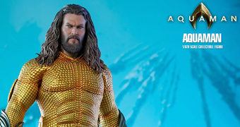 Aquaman (Jason Momoa) – Action Figure Perfeita 1:6 Hot Toys