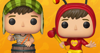 Bonecos Pop! Chaves e Chapolin Colorado