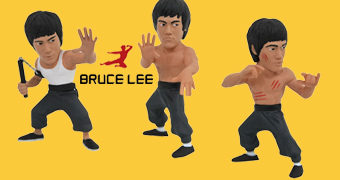 Mini-Figuras Bruce Lee D-Formz (Blind-Box)