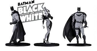 Mini-Figuras em Preto e Branco Batman: Black and White Série 2