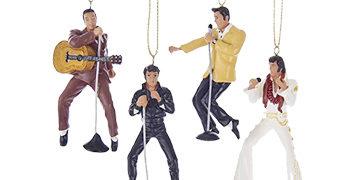 Enfeites de Natal Elvis Presley