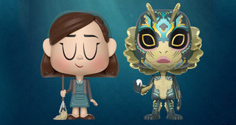 Dupla VYNL Shape of Water: Elisa + A Criatura (Guillermo del Toro)