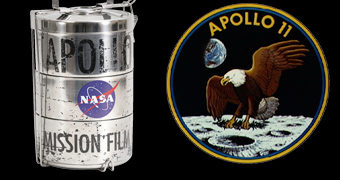 Lancheira NASA Apollo Moon Landing Film Cannister