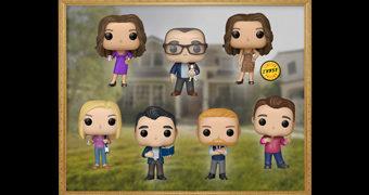 Bonecos Pop! da Série Modern Family