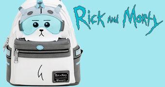 Mochila Snowball Rick and Morty para um Ano Novo Cheio de Estilo!