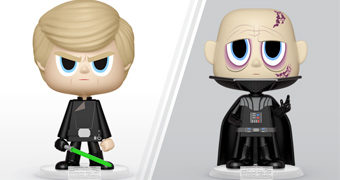 Dupla VYNL Darth Vader + Luke Skywalker (Star Wars Episódio IV: O Retorno de Jedi)
