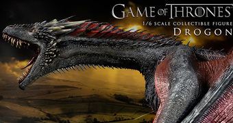 Dragão Drogon Game of Thrones – Action Figure Perfeita 1:6 ThreeZero